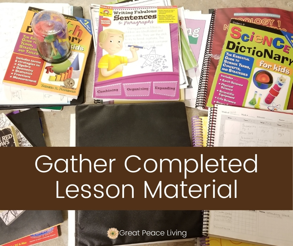 How to Prepare a Portfolio for Homeschool Assessments | Great Peace Living #homeschooling #homeschoolmoms #portfolioassessments #ihsnet