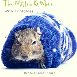 Mittens and More a Unit Study for The Mitten | Renée at Great Peace #homeschool #unitstudy #printables #ihsnet