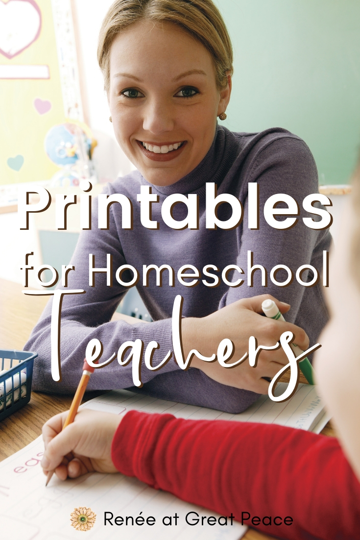 Incredible Index of Free Homeschool Printables | Renée at Great Peace #homeschool #homeschoolmoms #ihsnet