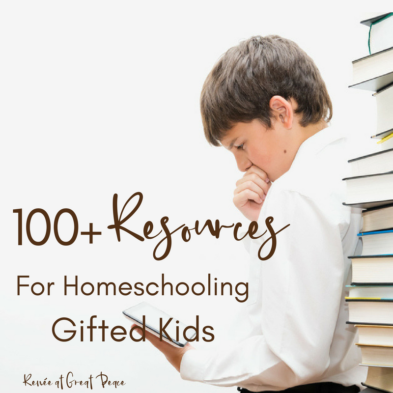 100+ Homeschooling Gifted Resources