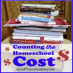 How much does homeschool actually cost? Breaking down the costs at Great Peace Academy