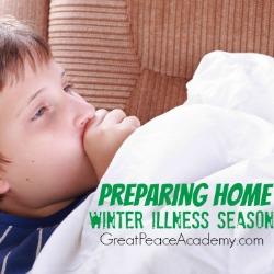 Prepare the Home for Winter Illness