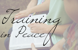 Training Your Child in Peace, devotionals focused on understanding parental responsibility of training a child in the way he should go.   Great Peace Academy