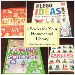 4 Books for Homeschool Libraries from DK Books. | Great Peace Academy.com
