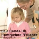 hands on homeschool teacher