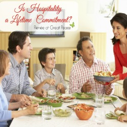 Is Christian Hospitality a Lifetime Commitment?