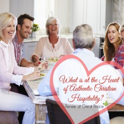 What is at the Heart of Authentic Christian Hospitality?