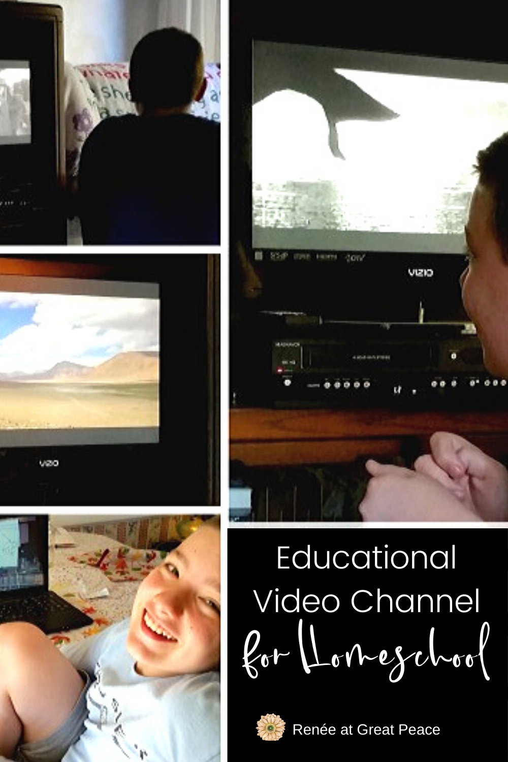 Educational Video Channel | Renee at Great Peace #educational #homeschool #video #videoschooling #curiositystream