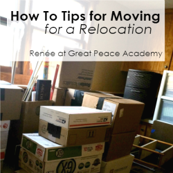 How to Tips for Moving for a Relocation