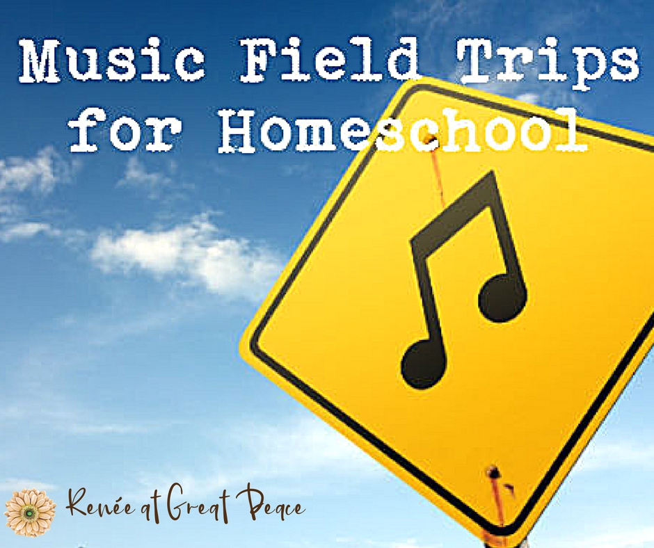 Music Field Trips for Fine Arts Homeschool | Great Peace Academy #ihsnet
