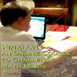 Finally an Online Course that Challenges a Math Mind