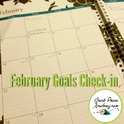 February Authentic Goals Check-in