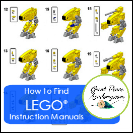 How to Find LEGO Instruction Manuals
