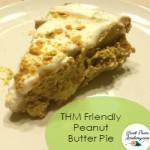 THM Friendly Peanut Butter Pie | Renée at GreatPeaceAcademy.com