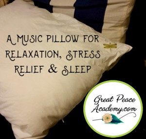 A Music Pillow for Relaxation, Stress Relief & Sleep | Dreampad Pillow Review | GreatPeaceAcademy.com