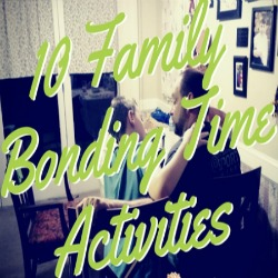 10 Family Bonding Time Activities   Renée at Great Peace