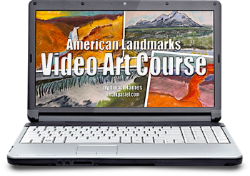 [ad] Video Art Course, American Landmarks | You ARE an Artist Chalk Pastels