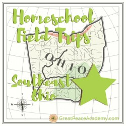Places for Homeschoolers to Visit in South East Ohio