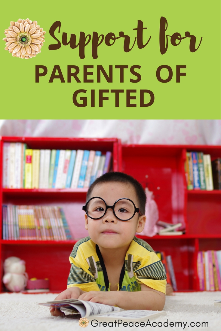 Web Resources for Parents of Gifted - Find support, groups, blogs, books & more. | GreatPeaceAcademy.com #ihsnet #homeschool #gtchat #gifted