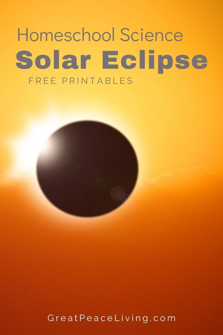 Learn about Solar Eclipses for Homeschool Science