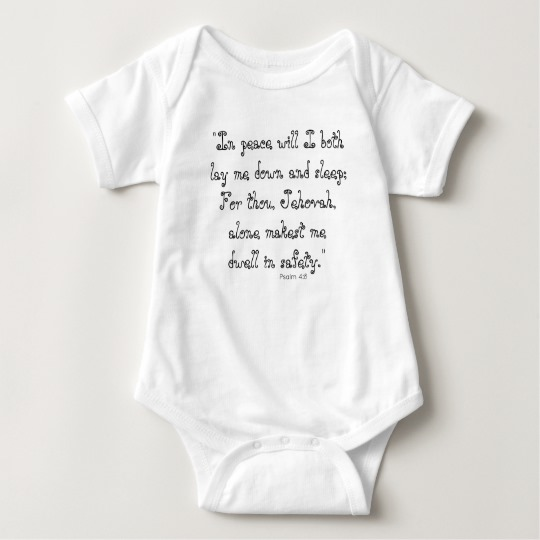 In peace I will lay me down Psalm 4:8 Quote - Tee | Renée at Great Peace #homeschool #ihsnet