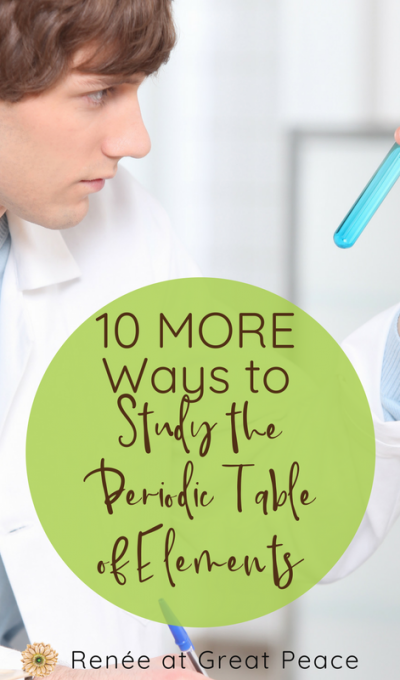10 MORE Ways to Study the Periodic Table of Elements