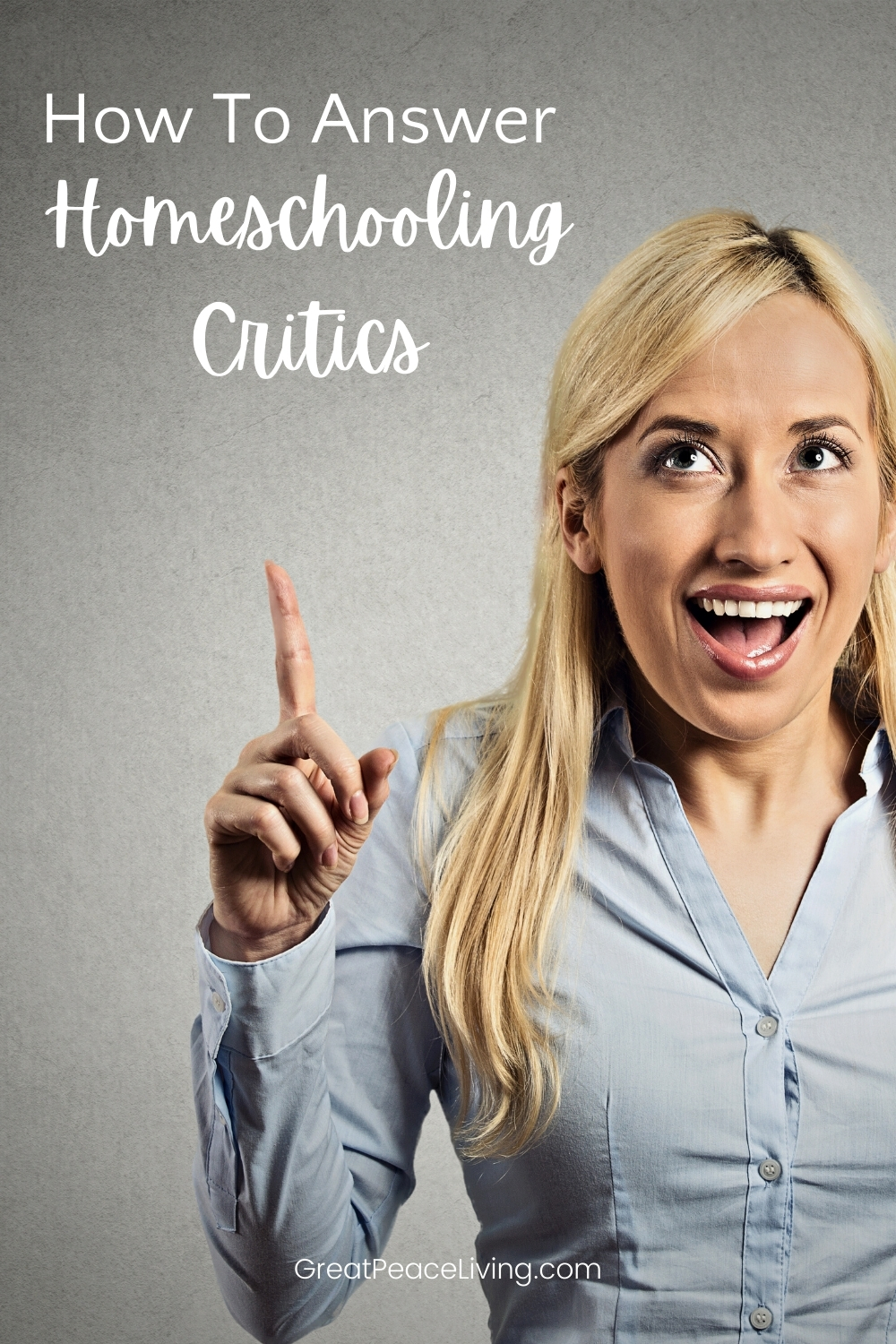 What to Say to the Homeschooling Critics