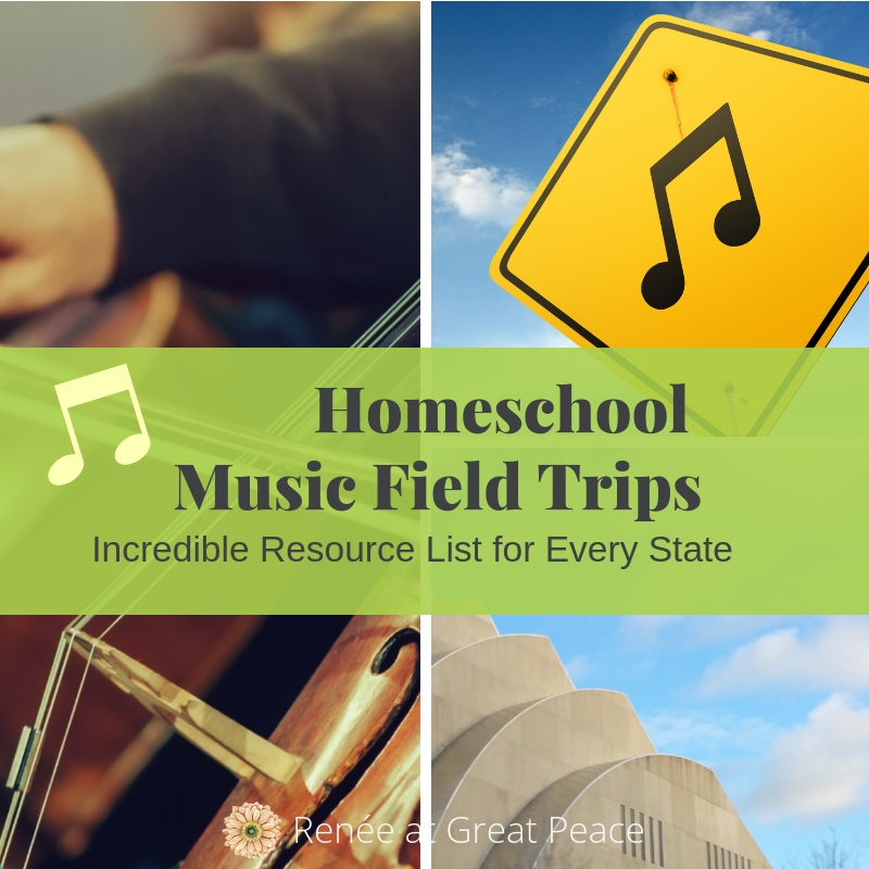 Music Field Trips for Fine Arts in Homeschool | Renée at