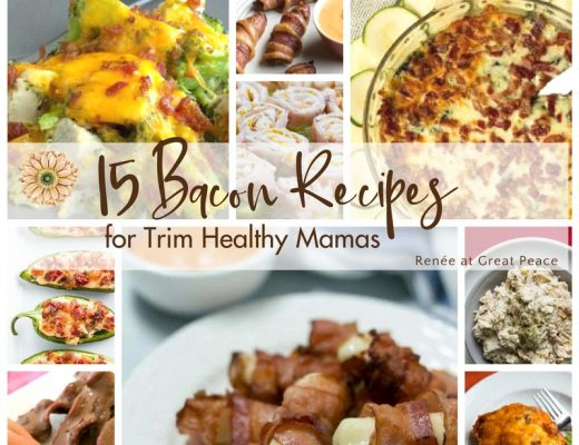 15 Bacon Recipes for Trim Healthy Mamas   Renée at Great Peace