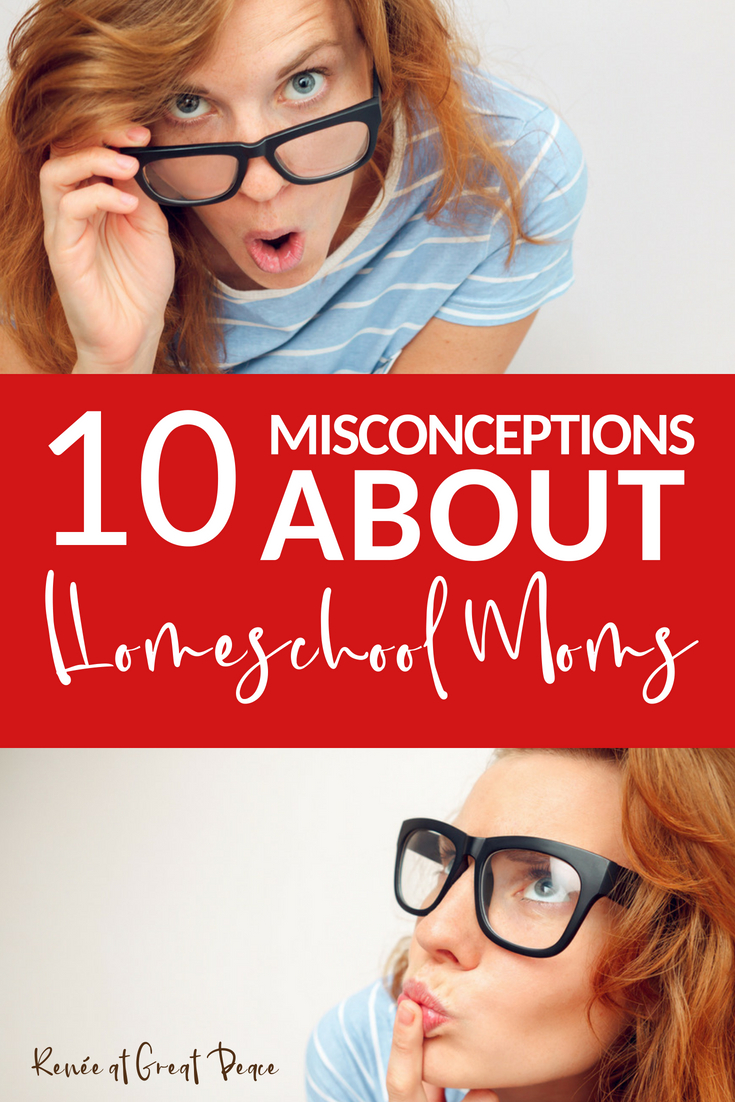 Homeschool Moms Misconceptions in Society
