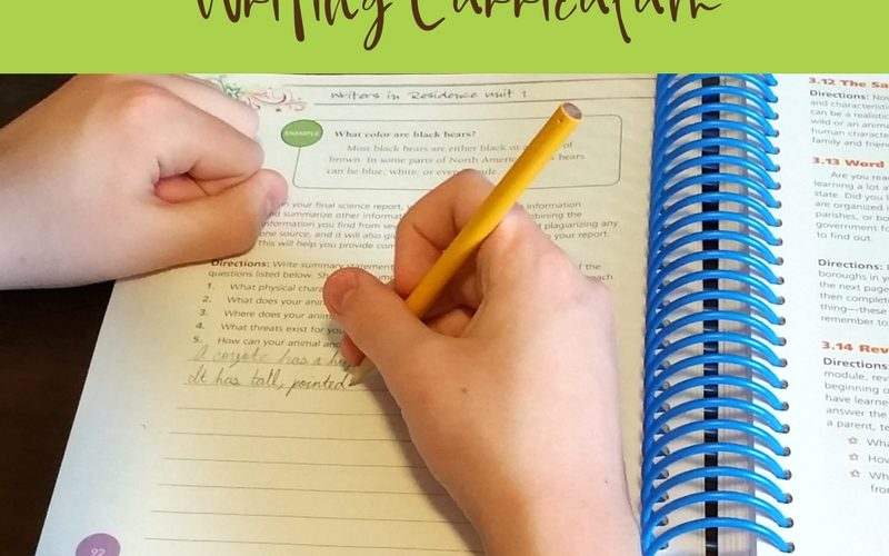 A Homeschool Writing Curriculum that Takes the Fear Out of Writing | Renée at Great Peace #ihsnet #homeschool #writing @ApologiaWorld