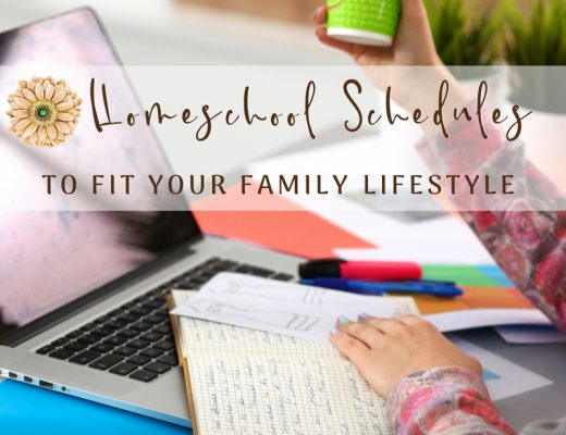 Homeschool Schedules to Fit Your Family Lifestyle | Renée at Great Peace