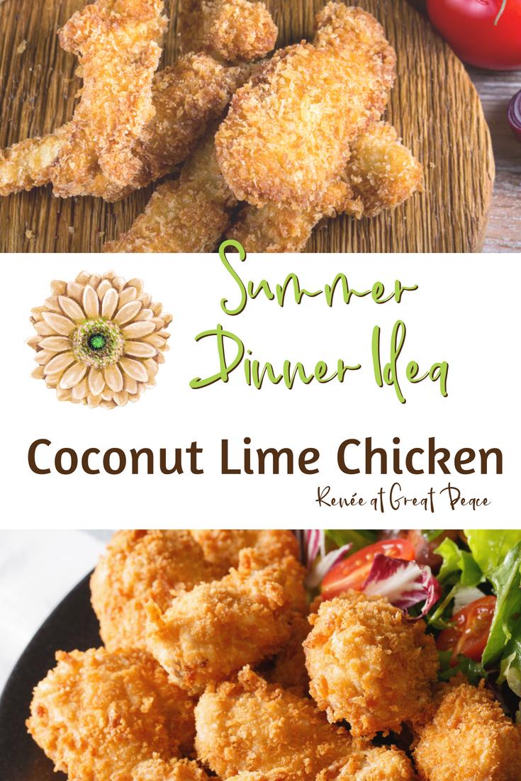 Summer Dinner Idea: Coconut Lime Chicken