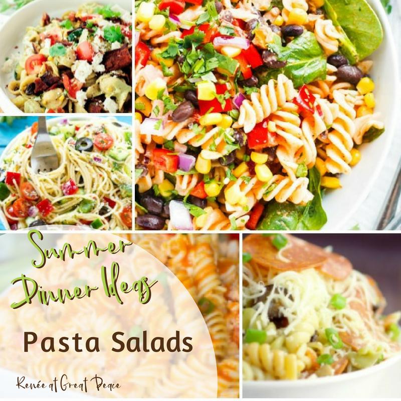 Summer Dinner Ideas with Pasta Salad
