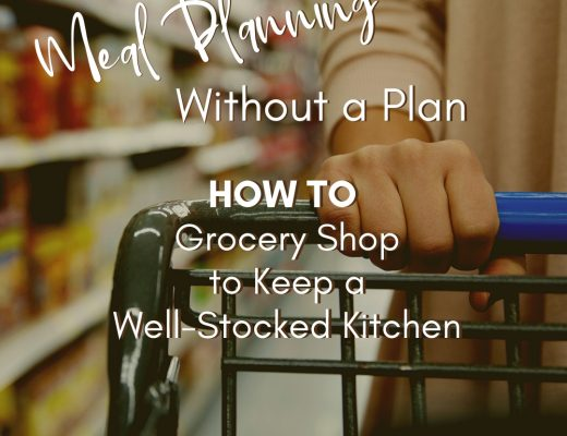 Meal Planning without a Plan | Renée at Great Peace #mealplanning #groceryshopping #savemoney