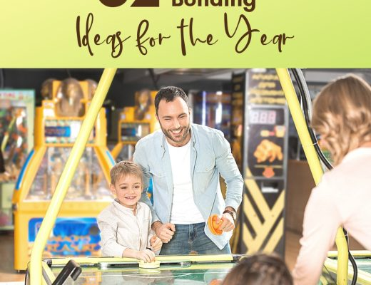 52 Family Bonding Ideas for the Entire Year | Renée at Great Peace #familytime #familybonding #gamenight #family #ihsnet