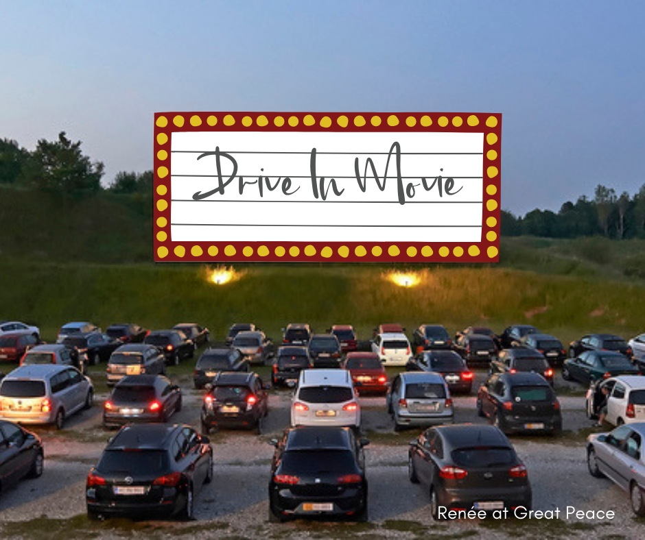 Drive In Movie & 51 Other Family Bonding Activities | Renée at Great Peace #familybonding #family #activities