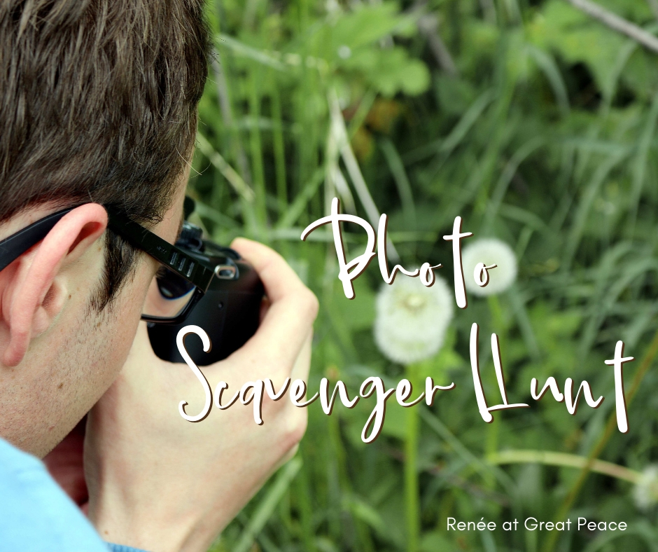Scavenger Hunt & 51 Other Family Bonding Activities | Renée at Great Peace #familybonding #family #activities
