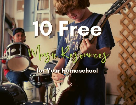 10 Free Music Resources for Your Homeschool | Renée at Great Peace #music #homeschool #musicappreciation #musicinhomeschool #ihsnet