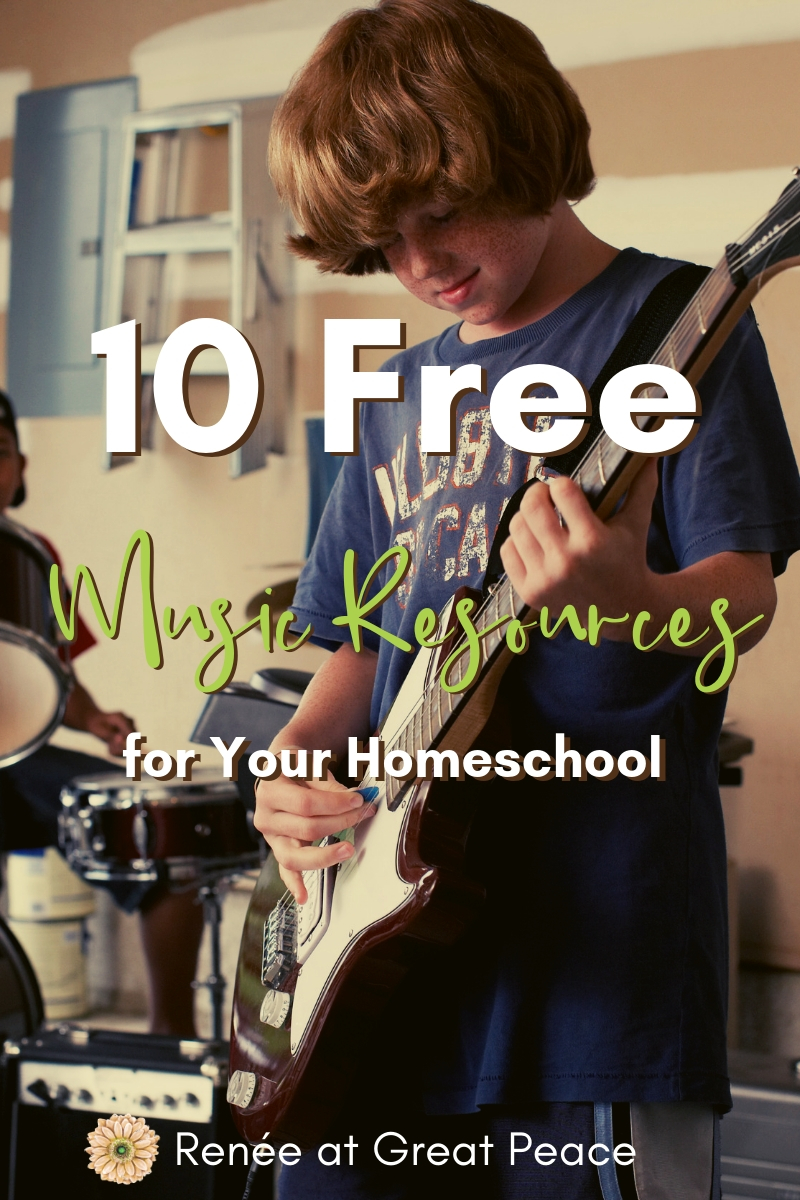 10 Free Music Resources for Your Homeschool | Renée at Great Peace 