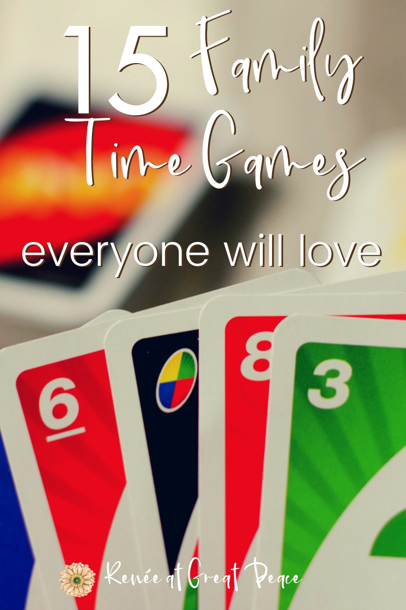 When you gather as a family for family time game night these are 15 games are fun, family friendly and everyone will love them.