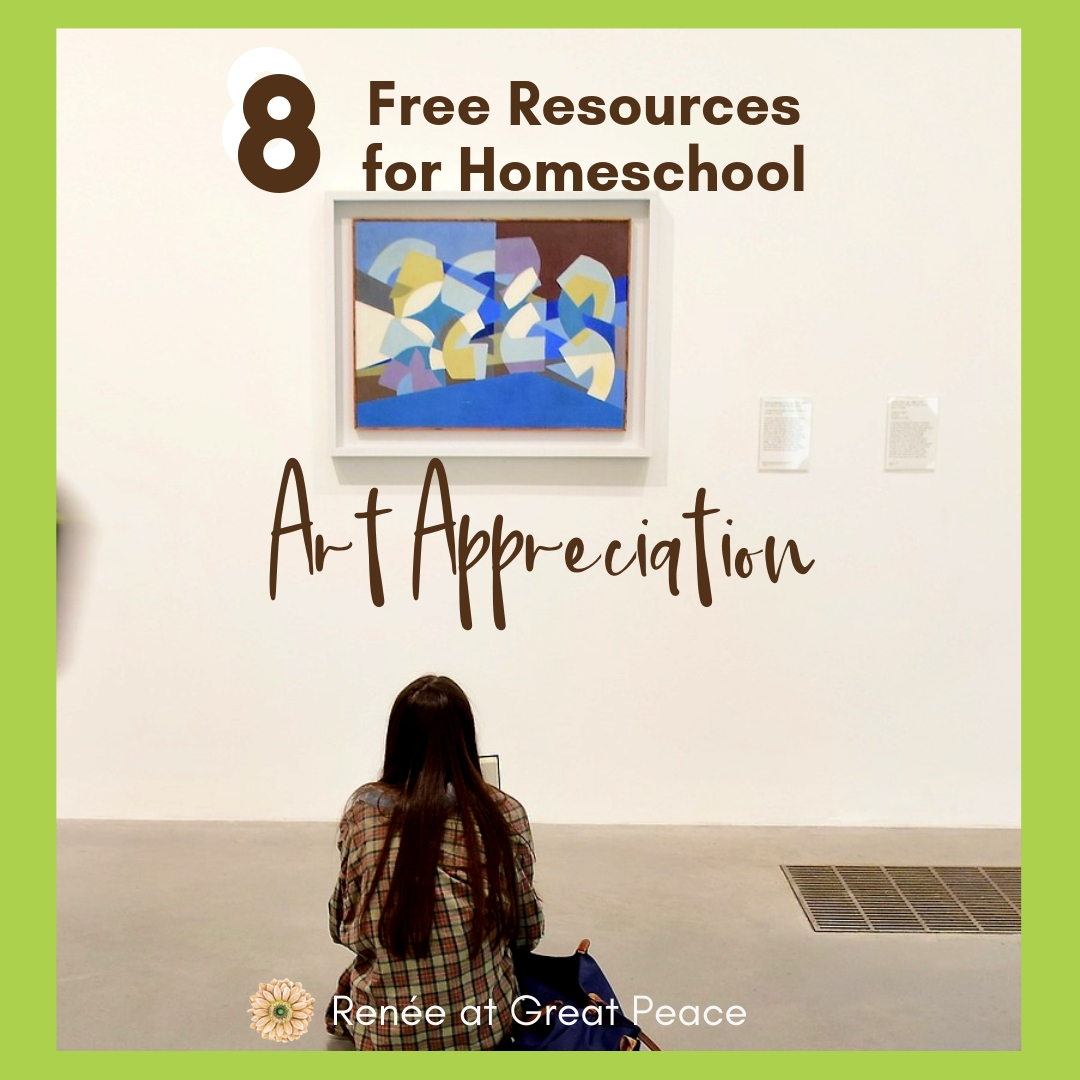 Free Resources For Homeschool Art Appreciation