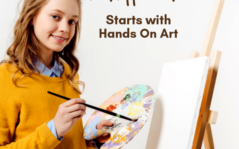 Why Art Appreciation Starts with Hands-On Art | Renée at Great Peace