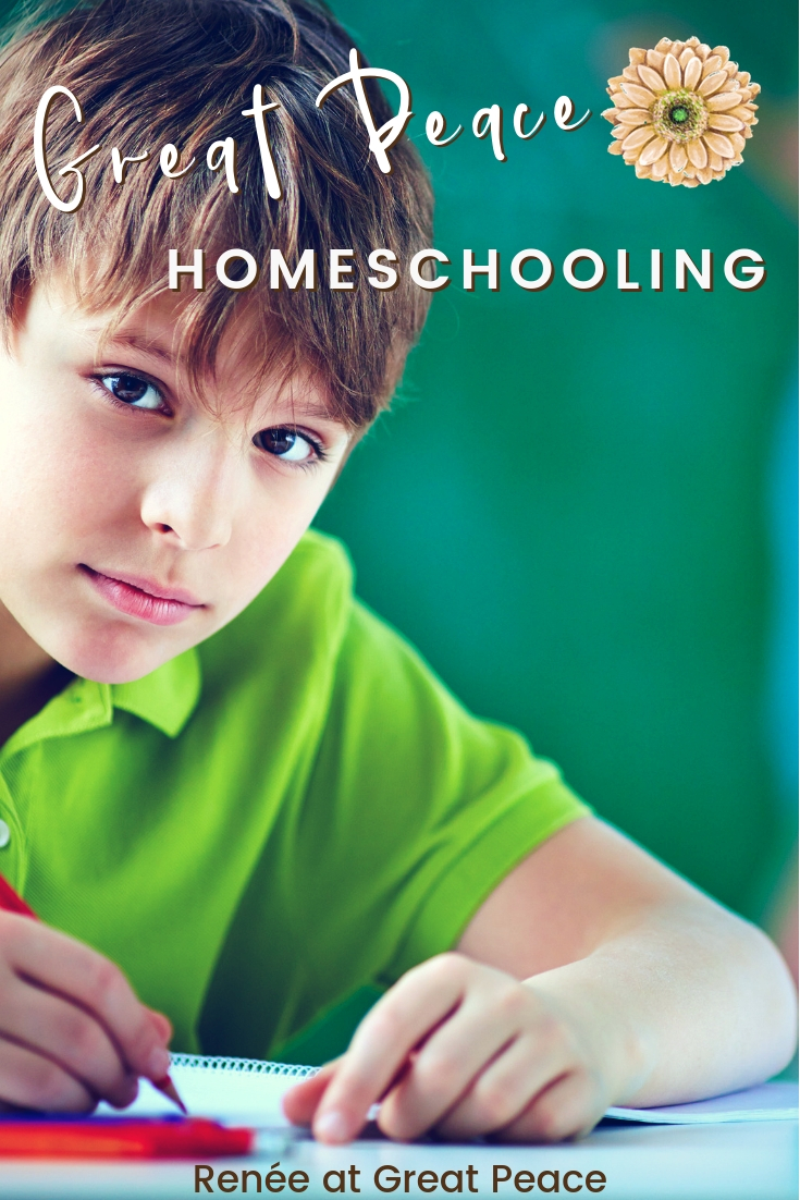 Great Peace Homeschooling | ReneeatGreatPeace.com #homeschool #ihsnet
