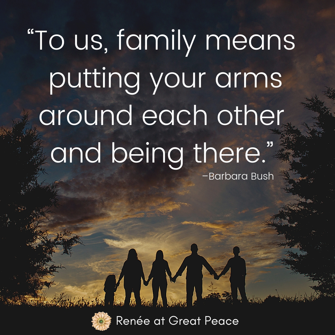 Inspiring Quotes for Your Family | Renée at Great Peace #family #familyquotes #inspiringquotes #ihsnet