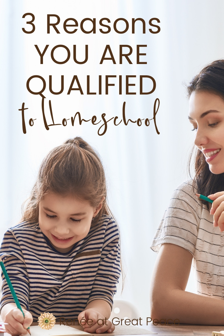 Are You Qualified to #Homeschool? | When moms consider the option of #homeschooling this question often gets asked, Are you qualified to homeschool your child? Discover why you ARE qualified. #ihsnet #hsmoms