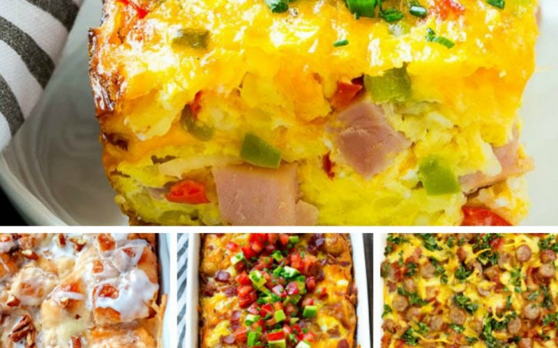 Breakfast Casserole Ideas For Busy Moms | Renée at Great Peace #mealplanning #breakfastideas #familymealtime #familybreakfast #moms #ihsnet