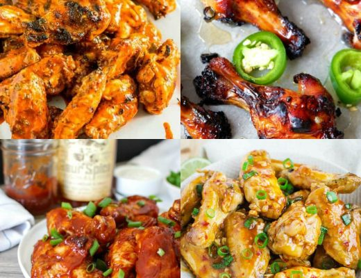 22 Family Dinner Ideas with Chicken Wings | Renée at Great Peace #mealplanning #familydinnerideas #dinnerideas #chickenwings #wings #ihsnet