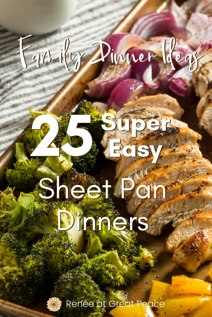 25 Super Easy Sheet Pan Dinners for Your Family