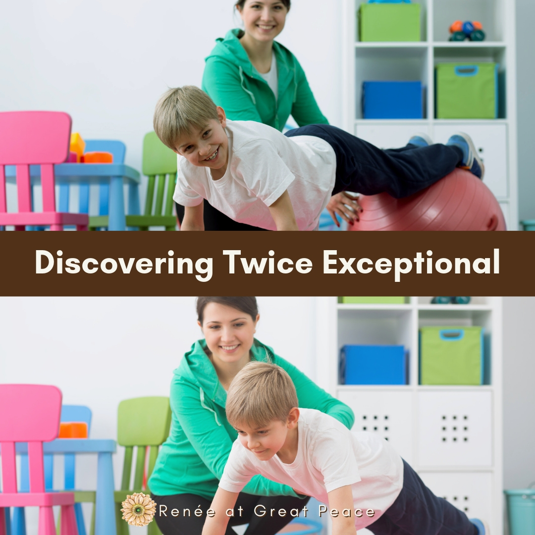 Gifted Asynchrony and the Twice Exceptional Child | Renee at Great Peace #gifted #giftedandtalented #gtchat #twiceexceptional #homeschool #giftedhomeschool #ihsnet